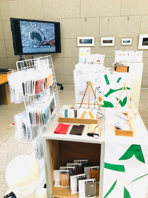 岡山県立美術館 特別展[星野道夫 悠久の時を旅する]にてTALABOのジビエレザーの革製品を販売しています。